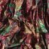 Percale plum w multicolour flowers