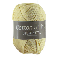 Cotton string støvet gul