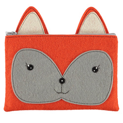 Kit felt clutch 26x17cm orange 1 pc
