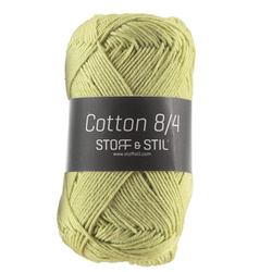 Garn Cotton 8/4 vårgrønn