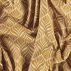 Woven oilcloth linenlook w curry print