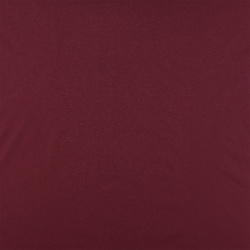 Plain cotton bordeaux