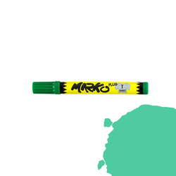 Textile pen permanent 5mm green
