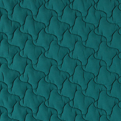 Quilt polyester light blue