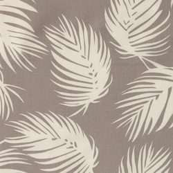 Woven grey e white leaves