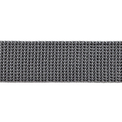 Webbing ribbon nylon 25mm grey 5m