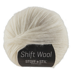 Garn shift wool natur