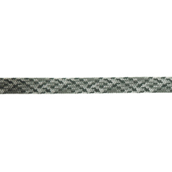 Ribbon tube 11mm grey/green 3m
