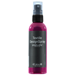 Tekstilmaling Spray rosa 100ml