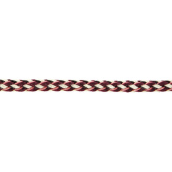 String 8mm bordeaux/nature/pink 2m